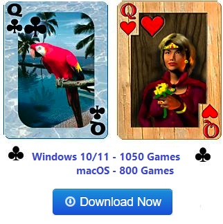 Download Pretty Good Solitaire. Now with over 1000 games!