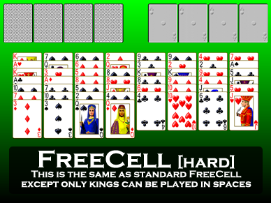 FreeCell Hard
