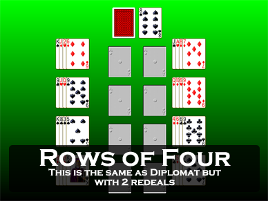 Rows of Four