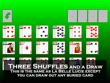 Three Shuffles and a Draw